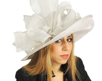 Anemone Hat for Weddings, Occasions and Parties