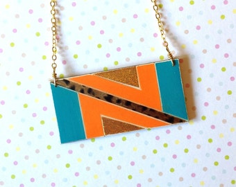 Super Sassy Geometric Necklace