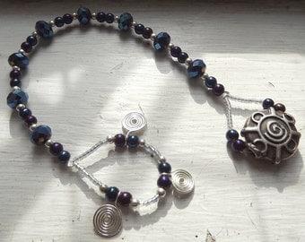 Spiral In - Witches' Ladder - Prayer Beads
