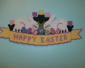 Happy Easter Wall Decor, Springtime Wall Decor