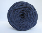 T Shirt Yarn Hand Dyed- Navy 60 Yards
