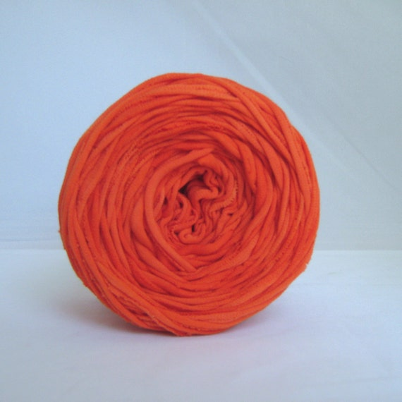 T shirt yarn hand dyed red orange 60 yards from for T shirt printing st charles mo