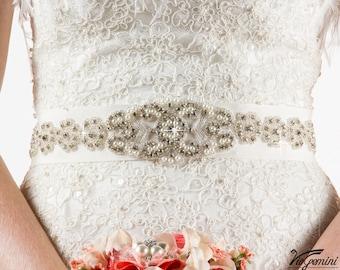 Bridal Sash Belt, Bridal Belt, Wedding Sash Belt, Crystal Rhinestone Belt, Wedding Belt
