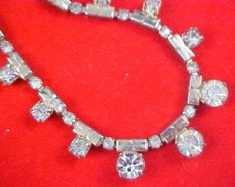 Stunning Graduated Diamante Choker/Necklace