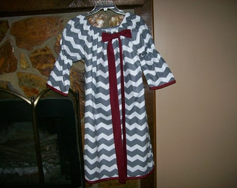 Adult Game Day Dress Texas A&M and MSU
