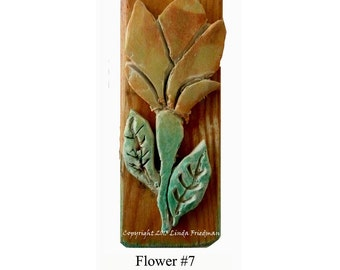 Stamp for Fabric - Flower No. 7