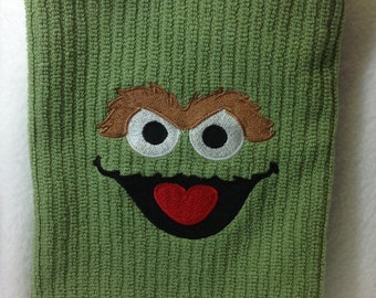 Oscar Embroidered Kitchen Towel