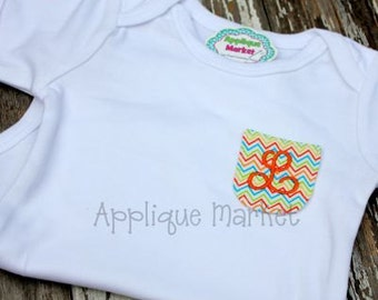 Machine Embroidery Design Applique Mini In the Hoop Round Pocket INSTANT DOWNLOAD