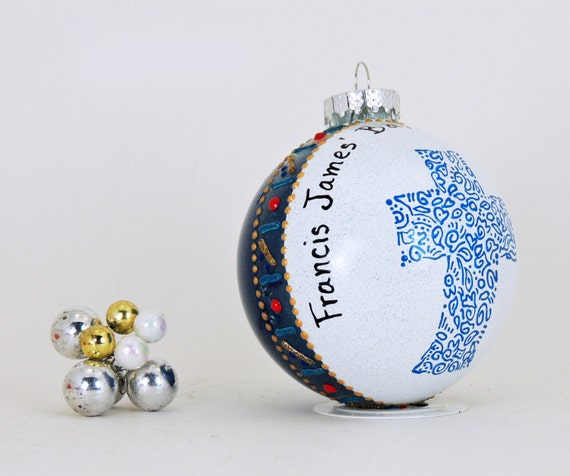 Baptism Ornaments: Baptism Communion Confirmation Ornament Personalized And