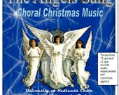 Christmas CD - The Angels Sang - Choral Christmas Music from 78 and 33 rpm records