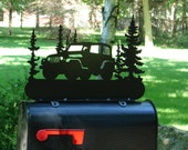 Jeep MAILBOX TOPPER Address Sign Home Decor Wrangler 4x4 Off Road