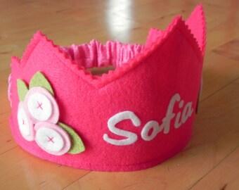 Pinkalicious Posey Birthday Crown