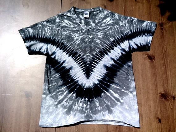 Custom tie dye tshirts unisex v neck v style by for Custom t shirts tie dye