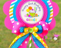 Candyland Centerpiece, Deluxe Birthday Centerpiece, Candyland Birthday Party