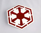 Star Wars Sith Empire Old Republic Roller Derby Helmet Vinyl Sticker / Vinyl Decal