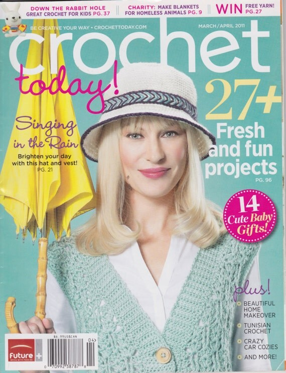 Crochet Today Magazine : Crochet Today Magazine March/April 2011 by handsoncreativitytoo