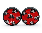 00g Panda Bears Plugs (9.5mm)