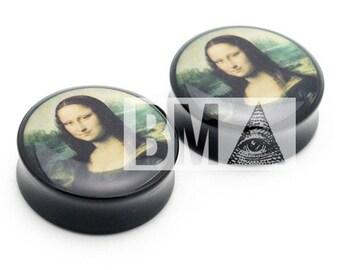 00g (9.5mm) Mona Lisa Plugs