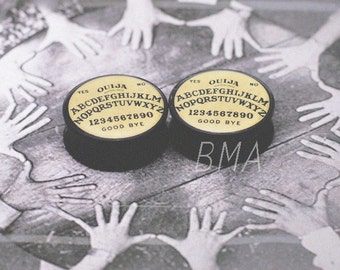 2g (6mm) Ouija Board BMA Plugs Pair