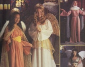 Nativity Gown Three Angels Gown Religious Costume Virgin Mary Dress Theater Christmas Simplicity 7033  Sewing Pattern Size L, XL 16 20 22 24