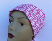Boxing Day Sale - Scrub Nurse - Pink Chemo Hat - Scrub Hat - Surgical Hat - Medical Hat
