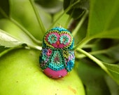 Destash! Polymer Clay Owl by Jennifer Morris