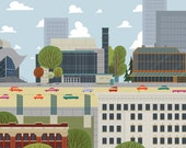 Edmonton - Downtown Arts District | A Unique Take on Alberta's Capital City Landmarks and Surrounding Area