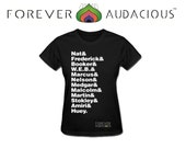 The EPITOME of an AUDACIOUS MAN - Malcolm X Nelson Mandela Marcus Garvey Dr King ( Wmn & Men Tshirt - Size S-XXl ) Made To Order