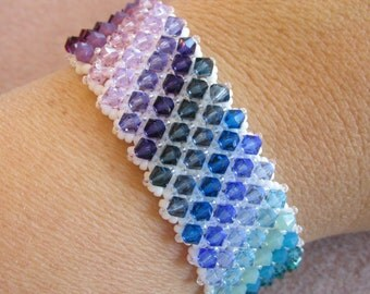 Bring on the Bling Bracelet PDF Jewelry Making Tutorial (INSTANT DOWNLOAD)