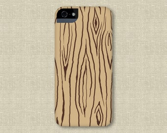 Faux Bois iPhone Case, Faux Wood iPhone 6,  Fois Bois iPhone 5S, Galaxy S6 Cover, Woodland iPhone 6 Plus Case, Woodgrain