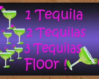 Cocktail area rug etsy for 1 tequila 2 tequila 3 tequila floor lyrics