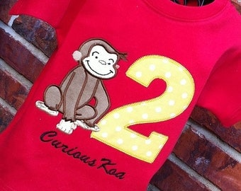 Boys Curious George with Age