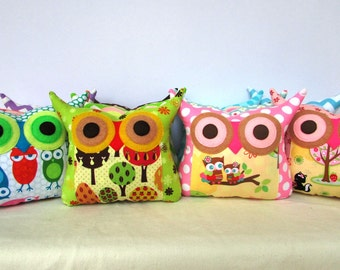 Wholesale + 20%  off /20 Owl pillows/ Express shipping/made to order