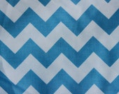 Riley Blake Medium Chevrons Medium Blue