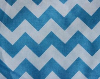 Riley Blake Medium Chevrons Medium Blue
