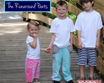 PDF Sewing Pattern: The Runaround Pants (Instant Download)