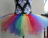 "Rainbow Fun Tutu - Adult Women's 31"""