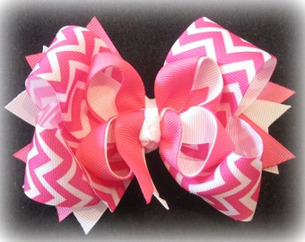 double layer hairbow girls hairbows large hairbows hair