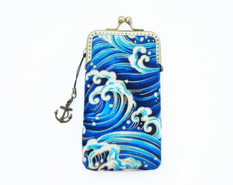 Waves Sailing Deep Blue Sea phone case gadget case / Glasses Case (iPhone 7, iPhone 7 Plus, Samsung Galaxy S7 etc. )