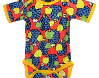 Vintage / Handmade / Bodysuit - Fruit Punch