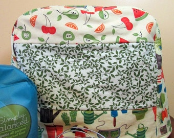 Gardening Fruit Kitchen Aid Mixer Cover-Fits classic, delux, artisan-Great gift for cook
