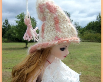 Tasseled Gnome Hat for Your Little Dolls
