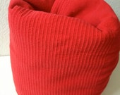 Vintage Red Cotton Camping Blankets - Cot Blankets - Camper - Free Shipping