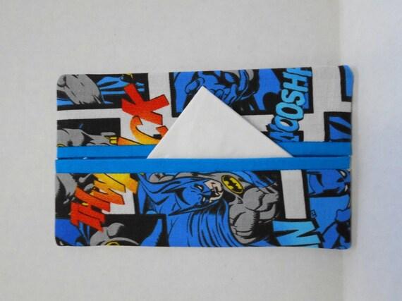 Batman Wedding Gift: Batman Tissue Cozy/Gift Card Holder/Party Favor/Wedding Favor