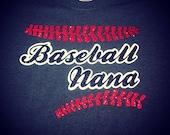Custom shirt baseball nana