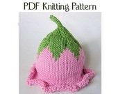 Baby Flower Fairy Hat Pattern, knit, Boston Beanies
