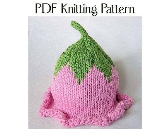 Baby Flower Fairy Hat Pattern Knit Boston Beanies Etsy