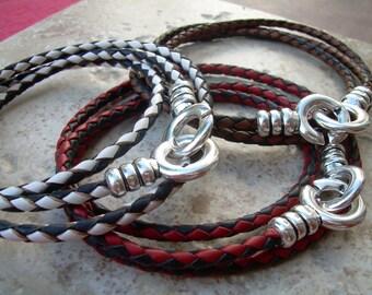Leather Infinity Bracelet, Infinity Leather Bracelet, Mens Bracelet, Womens Bracelet,Mens Jewelry,Womens Jewelry,Braided Bracelet, Groomsmen