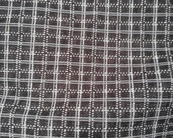 Fabric Sale Fall Black Silver Knit BTY