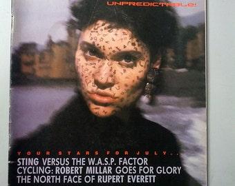 The Face magazine 1985 Palladium night club kids goth punk glam new wave Sting Rupert Everett Alan Parker